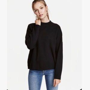 Sag Harbor Mock-neck Sweater